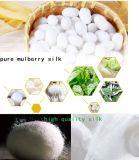Feito a pedido Natural Luxurious 100% Mulberry Silk Consolador