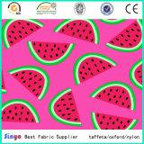 Tissu de textile en gros avec motif de fruits imprimé