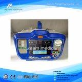 Primeros auxilios con el modo manual SpO2, Defibrillator del AED de ECG