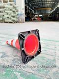 Pvc 700mm van het Concurrerende Voordeel van de Kwaliteit van Jiachen de Rode/Oranje Kegel van het Verkeer