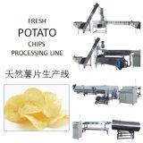 Patatine fritte fresche fritte commerciali che fanno macchina