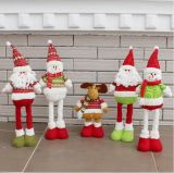 견면 벨벳에 의하여 채워지는 산타클로스 장난감 크리스마스 선물 장난감