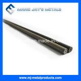 Hastes de carboneto de tungsténio de alta qualidade com um furo