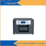 Mini stampante della maglietta del getto di inchiostro della macchina A4 di stampaggio di tessuti di vendita calda con inchiostro bianco