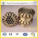 De post Koppeling van het Anker van de Spanning voor 15.24mm Voorgespannen Kabel