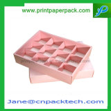 Verpakkende Doos van de Cake van de Banketbakkerij van het Koekje van de Chocolade van de Doos van de Gift van de gunst de Douane Afgedrukte