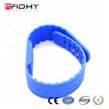 O estilo novo RFID ajustável Waterproof o Wristband na forma do relógio