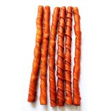 Chien Chews Poêlé fumé Twist Stick 5 pouces