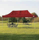 10X20FT personnalisée tente de pliage de plein air pour l'événement ou l'entrepôt