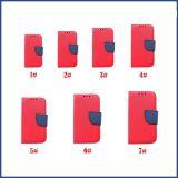 ユニバーサルPUの革フリップ札入れの箱の携帯電話カバー袋のカードスロットのホールダー