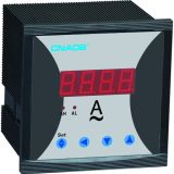 Одна фаза цифровой амперметр с релейный выход 96*96 AC5a CT регулируемый