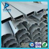 Profil d'aluminium de tissu pour rideaux de cadre de porte de guichet de qualité