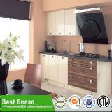 Gabinete de banheiro personalizado moderno da madeira contínua da elegância