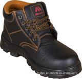 Hightの品質および安い価格の鋳鉄のつま先および版作業安全靴
