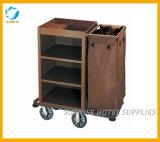 Carrinho de bagagem de carrinho de bagagem de aço inoxidável para o hotel