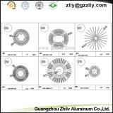 광저우는 알루미늄 또는 건축재료 해바라기 알루미늄 열 싱크를 주문을 받아서 만들었다