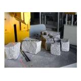 P90 Hydraulic Stone Splitting Machine Diamond Blade pour pavé de granit en pierre de grès