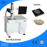Macchina per incidere di pietra del laser della fibra
