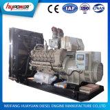 Potência de espera em modo aberto de 500kVA / 400kw com motor diesel Cummins