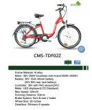 Bici eléctrica de la montaña del marco de la aleación de aluminio de la velocidad de Cms-Tdf02z 6 para la venta