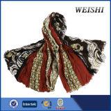(WV3-1/2) 형식 색깔 15%Wool 85%Visco 남자 스카프