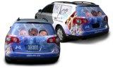 Печатание стикеров автомобиля нестандартной конструкции полного цвета для украшения