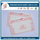 Лучшая пользовательская печать 4color Plastic Membership Card