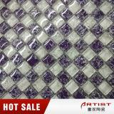 Glitter de vidro das telhas pequenas do mosaico da microplaqueta, banheiro do mosaico barato