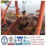 800t / P Déchargeur de navires Quatre cordes Grappin mécanique à clapet