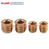 Implants Twill-Lined autotaraudeuse de l'écrou à fente INSERT