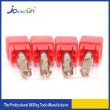 2 каннелюры HRC55 Tisin покрыли комплект торцевой фрезы носа шарика карбида вольфрама