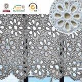 Merletto di Polyster della fusione di immaginazione della guarnizione del poliestere del tessuto del merletto del ricamo di alta qualità per gli indumenti & le tessile domestiche E20039