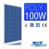 2017 высокого качества 100W модуль солнечной энергии из полимера с маркировкой CE, TUV