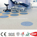 Antibacteriële Vloer van uitstekende kwaliteit Dichte onderst-2mm van pvc van de Behandeling Woon Vinyl