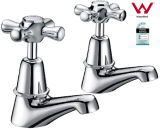 Wateramrk Brass Pillar Cocks Single Inlet Bibcock Taps (G204)