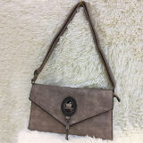 OEM Pu van de fabriek het Klassieke Ontwerp Van uitstekende kwaliteit van de Handtas van het Leer Dame Shoulder Bag Purse Made in China Sh128