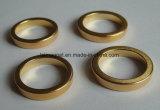 Ímã aglomerado anel do Neodymium do elevado desempenho com ouro