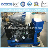 Gerador Diesel silencioso de 15kw-50kw Powered by Weichai Engine