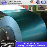 Colorear las bobinas de acero del cinc del Galvalume de aluminio revestido de la hoja de acero