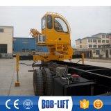 트럭에 의하여 거치되는 Foldable 기중기 4 톤