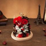 Fiore reale naturale di 100% per il regalo di festa