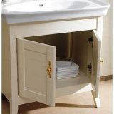 Vanidad Floor-Mounted del cuarto de baño de madera de roble de la serie de la cabina