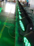 éclairage principal mobile de lavage de faisceau d'effet d'étape de 19PCS *3W