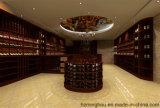 Weinkeller für hölzerne Möbel-Wein-Speicher-Wein-Bildschirmanzeige anpassen