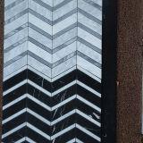 Плитка мозаики маштаба белых рыб Binano Carrara строительного материала