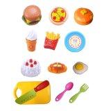 최신 아이는 가장한다 과일 고정되는 부엌 장난감 (H3119201)를 자르는 실행 장난감을