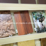 Placas de alumínio macias revestidas de cor grossa de 3 mm para fachadas de parede