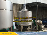 serbatoio mescolantesi dell'acciaio inossidabile 1000liter con l'agitatore di spazzata
