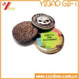 Pièces de monnaie molles gravées en relief populaires en métal d'Expoxy d'émail de qualité de promotion des ventes