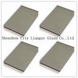 vidrio gris del color del G-Cristal de 12m m para la decoración/el edificio